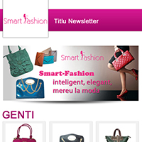 Newsletter pentru Smart Fashion